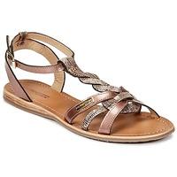 Schuhe Damen Sandalen / Sandaletten Les Tropéziennes par M Belarbi HAMS Bronze