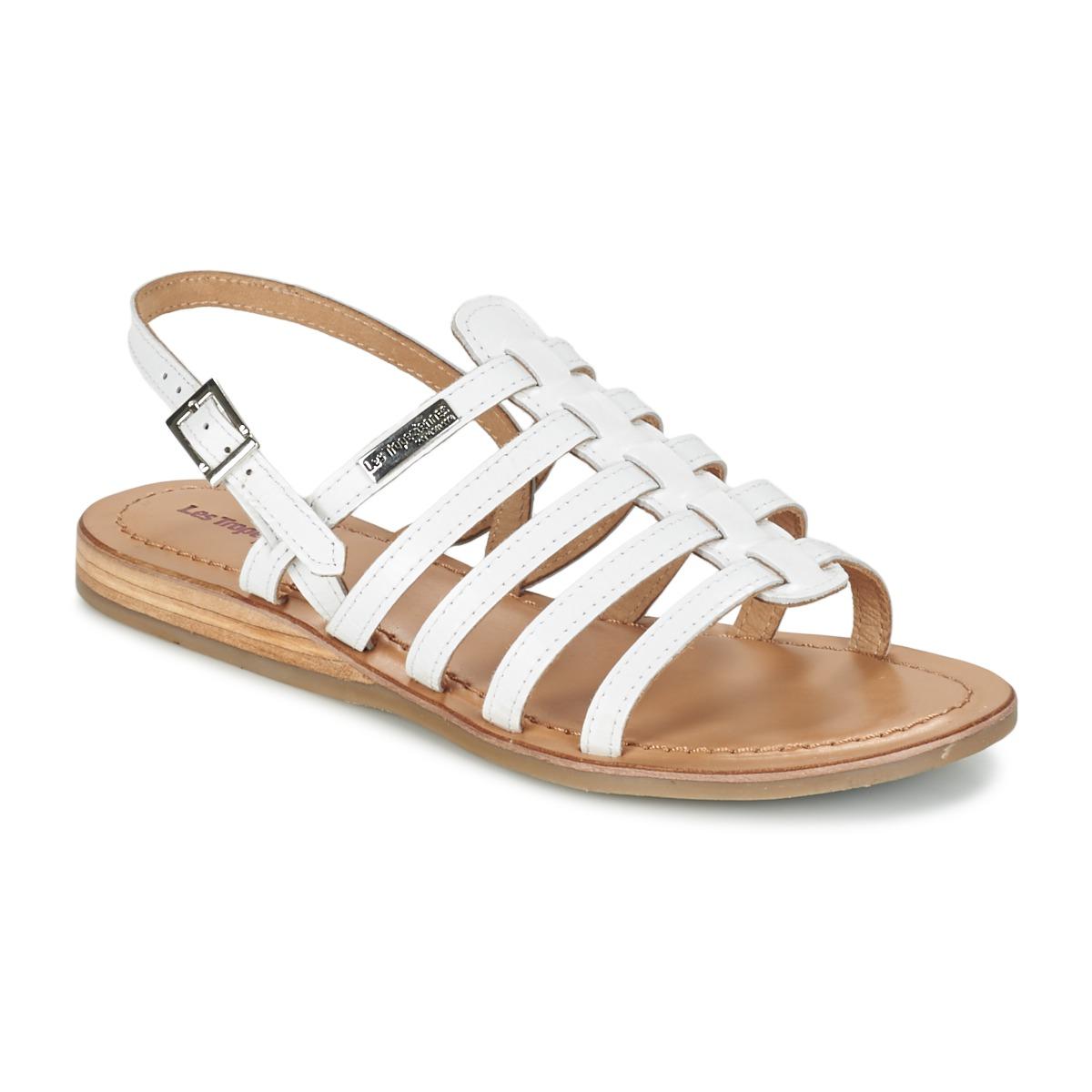 Les Tropéziennes par M Belarbi HAVAPO Weiss - Kostenloser Versand bei Spartoode ! - Schuhe Sandalen / Sandaletten Damen 44,00 €