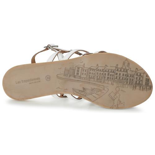 Les Tropéziennes par M Belarbi HAVAPO Weiss  Damen Schuhe Sandalen / Sandaletten Damen  44 fcc67a