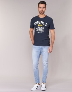 Kleidung Herren Slim Fit Jeans Jack & Jones LIAM JEANS INTELLIGENCE Blau