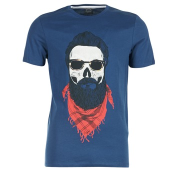 Kleidung Herren T-Shirts Jack & Jones TRICK ORIGINALS Marine