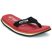 Schuhe Herren Zehensandalen Cool shoe ORIGINAL Rot / Schwarz