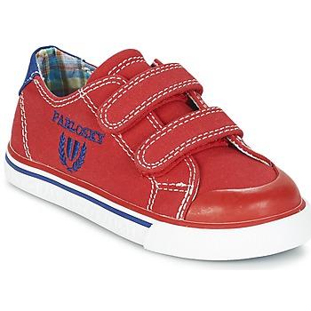 Schuhe Jungen Sneaker Low Pablosky LIVABI Rot