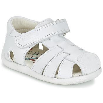 Schuhe Jungen Sandalen / Sandaletten Pablosky NETROLE Weiss