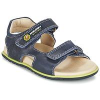 Schuhe Jungen Sandalen / Sandaletten Pablosky GARMINOUTE Blau