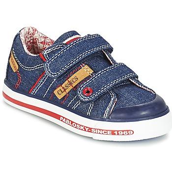 Schuhe Jungen Sneaker Low Pablosky ERIVO Blau