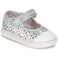 Schuhe Mädchen Ballerinas Pablosky MEZINILE Silbern