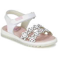 Schuhe Mädchen Sandalen / Sandaletten Pablosky COULOIME Weiss