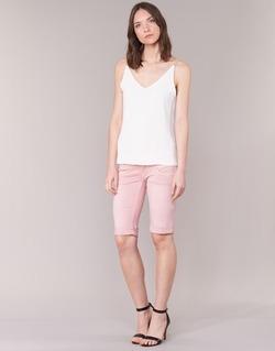Kleidung Damen Shorts / Bermudas Freeman T.Porter BELIXA NEW MAGIC COLOR Rose