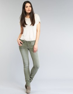 Kleidung Damen 5-Pocket-Hosen Freeman T.Porter ALEXA SLIM NEW MAGIC COLOR Kaki