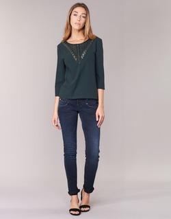Kleidung Damen Slim Fit Jeans Freeman T.Porter ALEXA SLIM SDM Blau