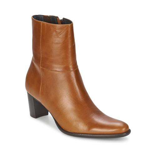 Schuhe Damen Low Boots Betty London GALET Camel