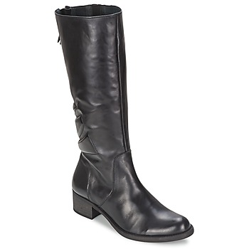 Schuhe Damen Klassische Stiefel Betty London GRECIA Schwarz