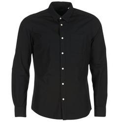 Kleidung Herren Langärmelige Hemden Esprit FOVETTIO Schwarz