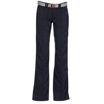 Kleidung Damen 5-Pocket-Hosen Esprit TURN UP Schwarz
