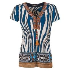 Kleidung Damen T-Shirts Derhy JAQUERIE Blau