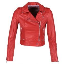 Kleidung Damen Lederjacken / Kunstlederjacken Oakwood 62326 Rot
