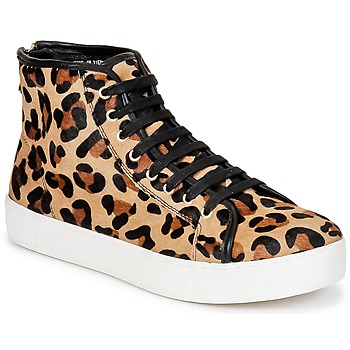 Schuhe Damen Sneaker High North Star BEID Leopard