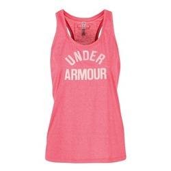Kleidung Damen Tops Under Armour THREADBORNET TWIST GRAPHIC Rose