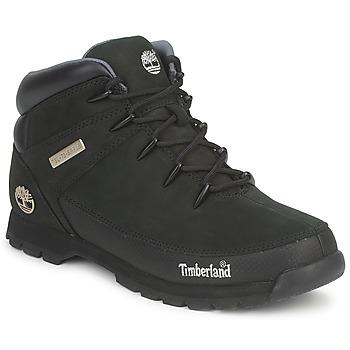 Schuhe Herren Boots Timberland EURO SPRINT HIKER Schwarz