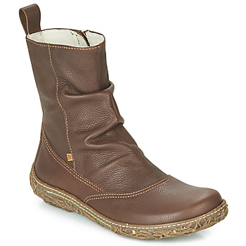 Schuhe Damen Boots El Naturalista NIDO TRAMBU Braun