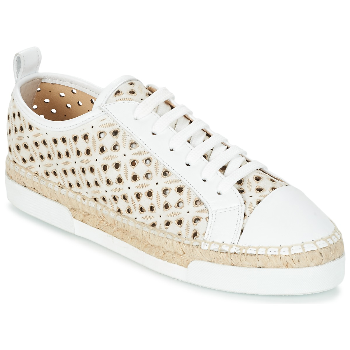 Sonia Rykiel 622348 Weiss - Kostenloser Versand bei Spartoode ! - Schuhe Sneaker Low Damen 144,50 €