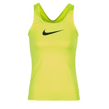 Kleidung Damen Tops Nike NIKE PRO COOL TANK Gelb
