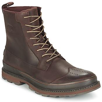 Schuhe Herren Boots Sorel MADSON WINGTIP BOOT Braun