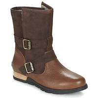 Schuhe Damen Boots Sorel SOREL MAJOR MOTO Tabac