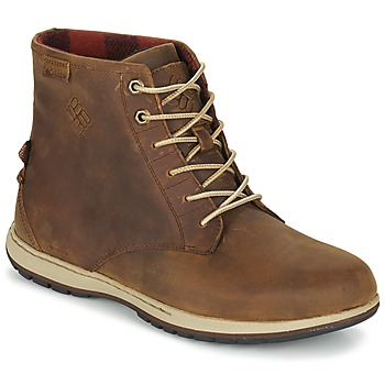 Schuhe Herren Boots Columbia DAVENPORT SIX WATERPROOF LEATHER