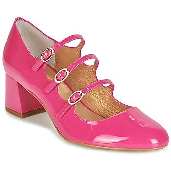 Schuhe Damen Pumps Mellow Yellow BYDOUDOU Fuchsienrot