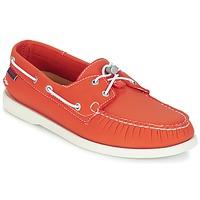 Schuhe Herren Bootsschuhe Sebago DOCKSIDES ARIAPRENE Orange