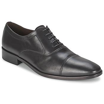 Schuhe Herren Richelieu So Size INDIANA Schwarz