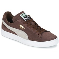 Schuhe Sneaker Low Puma SUEDE.BROWN/SESAME Braun