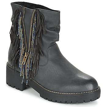 Schuhe Damen Boots Coolway BARINA Schwarz