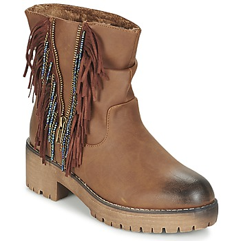 Schuhe Damen Boots Coolway BARINA Camel