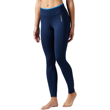 Kleidung Damen Leggings Reebok Sport Workout Ready Tight Blau / Blau