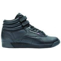 Schuhe Damen Sneaker High Reebok Sport Damksie  Freestyle Hi Schwarz