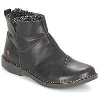 Schuhe Damen Boots Art BERGEN Schwarz