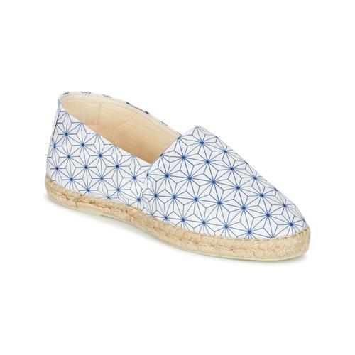 Maiett ASANOHA Blau   Weiss  Schuhe Schuhe Schuhe Leinen-Pantoletten mit gefloch Damen abec5b