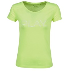 Kleidung Damen T-Shirts Only Play BASIC Gelb