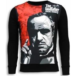 Kleidung Herren Sweatshirts Local Fanatic Padrino The Godfather Schwarz