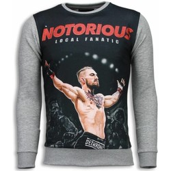 Kleidung Herren Sweatshirts Local Fanatic Notorious McGregor Grau