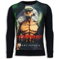 Kleidung Herren Sweatshirts Local Fanatic Popeye Revenge Schwarz