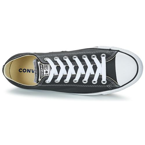 Converse CT CORE LEA LEA LEA OX Schwarz  Schuhe Turnschuhe Low 173c44