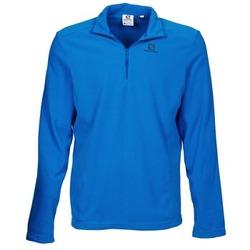Kleidung Herren Fleecepullover Salomon PANORAMA HZ Blau