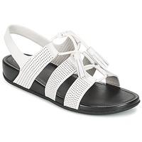 Schuhe Damen Sandalen / Sandaletten FitFlop GLADDIE LACEUP SANDAL Weiss