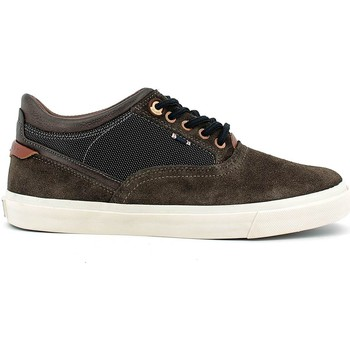 Schuhe Herren Sneaker Low Wrangler WM162111 Shoes with laces Man Dark brown