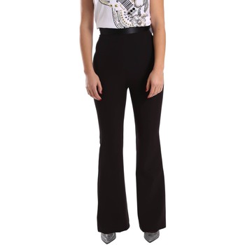 Kleidung Damen Chinohosen Denny Rose 64DR12002 Trousers Frauen Black
