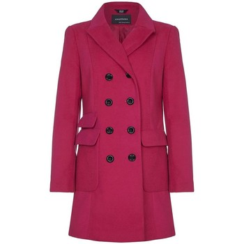 Kleidung Damen Trenchcoats Anastasia Anastasia Womens Military Style Mantel Pink